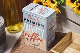 Komplet dwóch puszek dekoracyjnych Quality Coffee