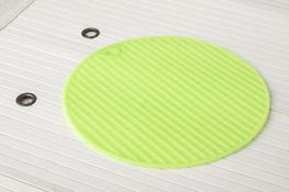Podkładka silikonowa okrągła 18.5 cm mix kolorów