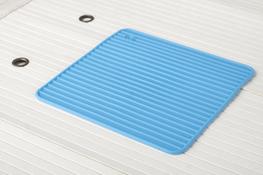 Podkładka silikonowa kwadratowa 16.5 x 16.5 cm mix kolorów