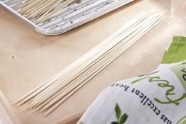 Patyczki do szaszłyków bambusowe 24.5 cm