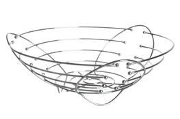 Koszyk metalowy na owoce 27 cm