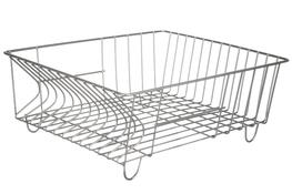METPOL Stalowa suszarka do naczyń 36 x 29 cm