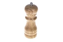 Drewniany młynek do przypraw h 13.5 cm
