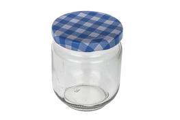 Słoiczek szklany okrągły na przyprawy 150 ml mix kolorów