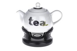 Dzbanek ceramiczny z podgrzewaczem 1 L Tea