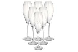 BOHEMIA CECILIA Komplet 6 kieliszków do szampana 320 ml