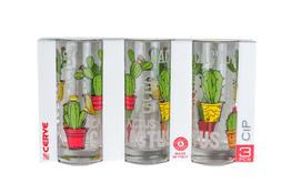 CERVE Komplet 3 szklanek Cip 365 ml