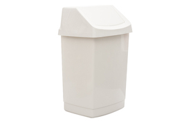 CURVER Kosz na śmieci uchylny 25 L biały click it