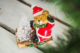 KOOPMAN Figurka świąteczna BAŁWANEK, MIŚ, GWIAZDOR - mix wzorów