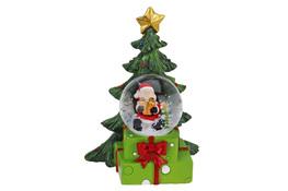 KOOPMAN Kula wodna z motywem świątecznym - mix wzorów
