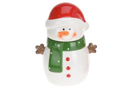 KOOPMAN Świąteczna figurka ceramiczna na ciastka 24 cm - mix wzorów