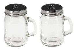 KOOPMAN Zestaw przyprawników szklanych h - 8.5 cm