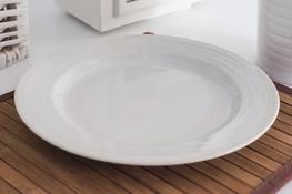 Talerz płytki Karlo 26.5 cm biały