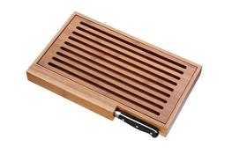 WMF Deska do krojenia bambusowa z nożem