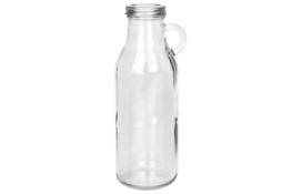 KOOPMAN Butelka szklana z uchem 900 ml z zakrętką