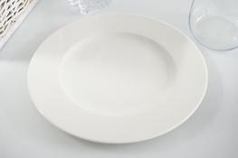 Karolina Lorel Ecru Półmisek okrągły 32 cm