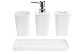 KOOPMAN Komplet łazienkowy 3 częściowy z podstawką
