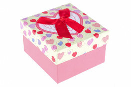 Pudełko prezentowe 9 x 9 x 5.5 cm mix wzorów