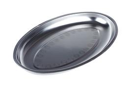 Taca metalowa owalna głęboka 39 x 23.5 x 3 cm