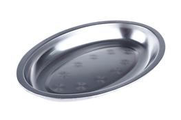 Taca metalowa owalna głęboka 24.5 x 15.5 x 2.5 cm