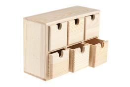 Pudełko drewniane/komódka 21 x 8.5 x 14.5 cm