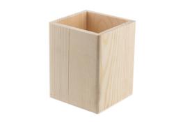 Pojemnik drewniany 8 x 8 x 10 cm