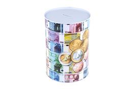 Puszka skarbonka banknot 22 x 15.3 cm