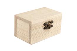 Skrzynka drewniania decoupage 8.7 x 5.3 x 4.9