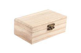 Skrzynka drewniania decoupage 12.2 x 7 x 5