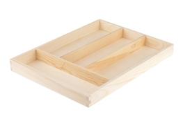 Wkład na sztućce drewniany 31.5 x 23.5 x 3