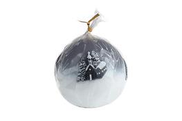 ADPAL Świeczka świąteczna kula 8 cm