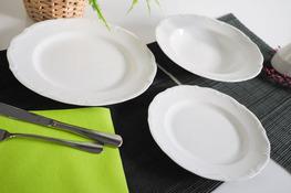 MARIA TERESA Porcelana gastronomiczna Serwis obiadowy 18/6 0000
