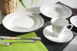 MARIA TERESA Porcelana gastronomiczna Serwis obiadowo - kawowy 30/6 0000