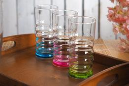 Komplet 3 wysokich szklanek Twist 365 ml