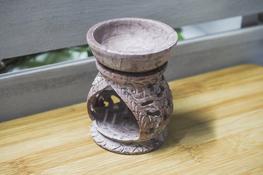 ADPAL Kominek dekoracyjny, lampka do olejków 8.4 cm