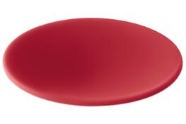 GIANNINI Podkładka silikonowa okrągła 15 cm czerwona
