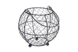 GARPOL Koszyk metalowy okrągły 18 cm