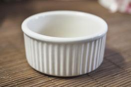 Kokilka, naczynie do zapiekania białe 7.5 cm