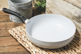 TADAR Patelnia ceramiczna głęboka SOTTO 28 cm