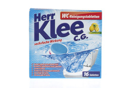 HERR KLEE C.G. Tabletki odkamieniające do WC 16 tabletek