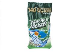 WASCHE MEISTER UNIVERSAL Proszek do prania tkanin białych i kolorowych 10.5 kg