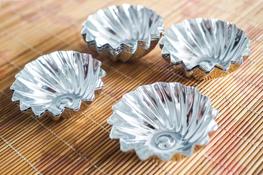 TARMEX Foremki pieczenia do ciastek 6.5 cm 10 sztuk