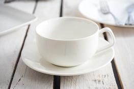 Filiżanka porcelanowa ze spodkiem 250 ml
