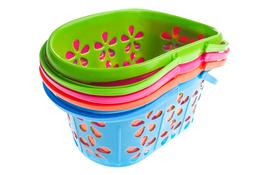 Koszyk plastikowy 16 cm - mix kolorów