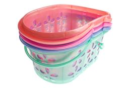 Koszyk plastikowy 24 cm - mix kolorów