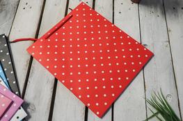 Torebka prezentowa 30 x 25.5 x 10 cm czerwona