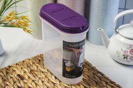 PLAST TEAM Pojemnik owalny 2.4 L fioletowy
