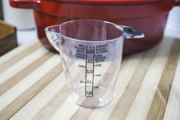 PLAST TEAM Dzbanek z miarką 0.25 L