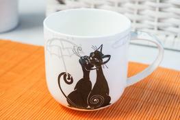 HANIPOL Porcelanowy kubek 420 ml Koty