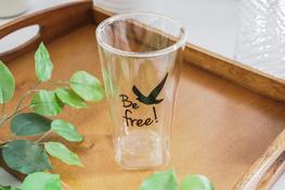 KULIG Szklanka wysoka z podwójną ścianką 300 ml Be free